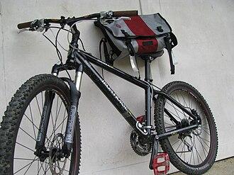 Iron Horse Bicycles - Iron Horse Maverick 3.0 and a Timbuk2 messenger bag.