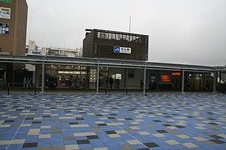 Ishiyama Station Railway station in Ōtsu, Shiga Prefecture, Japan