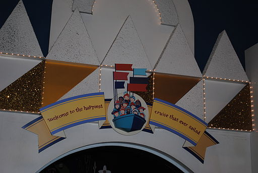 Its a small world at Magic Kingdom Florida