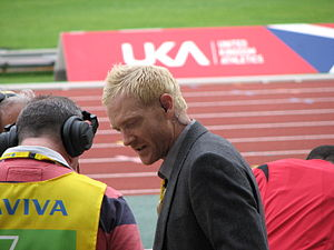 Iwan Thomas - Thomas being interviewed in London in 2011