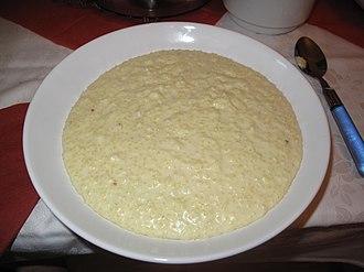 Porridge - Millet porridge