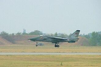 Kecskemét Air Show - Serbian J-22 Orao during landing