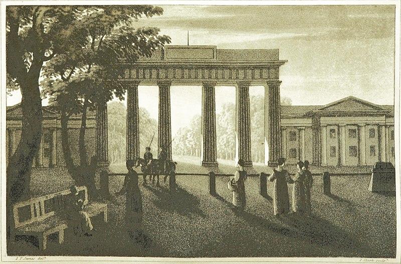 File:JAMES(1817) p1.076 BERLIN, BRANDENBURGER TOR.jpg