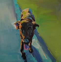 JANDU my beloved dog 2014 50x50cm oil on canvas.jpg