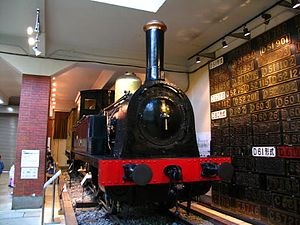 History of rail transport in Japan - No. 1, one of the earliest locomotives later type 150, was UK made
