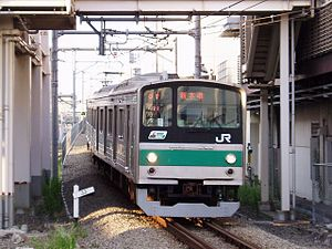 *East Japan Railway Company, EMU type 205 *Sai...