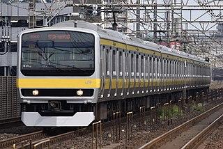 E231 series Japanese train type