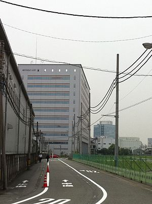 JVC Kenwood - JVCKENWOOD's headquarters in Yokohama, Japan
