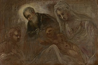The Holy Family with the Young Saint John theBaptist