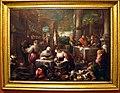 Jacopo e leandro bassano, lazzaro alla mensa del ricco epulone, 1578-80 ca.jpg