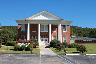 James County, Tennessee - The third courthouse of (the now defunct) James County in Ooltewah