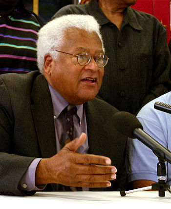 James Lawson in Nashville, Tennessee.