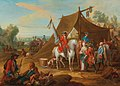 Jan Peeter Verdussen - The Household Cavalry of the Duke of Savoy with a Standard Bearer.jpg