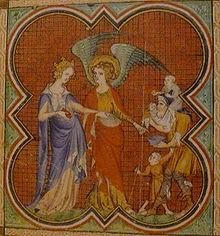 Jeanne II de Navarre (Livre d'heures de Jeanne de Navarre).