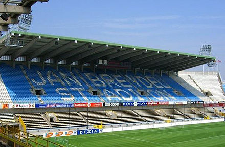 Tribune nord du stade Jan Breydel
