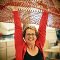Janet Echelman With Sculpture Prototype.jpg