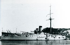 Japanese cruiser Hashidate in 1916.jpg