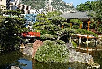 Japanese Garden, Monaco - Image: Jardin Japonais 3