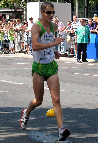 2009 World Championships in Athletics – Men's 20 kilometres walk - 2008 Olympic medallist Jared Tallent only managed fifth place