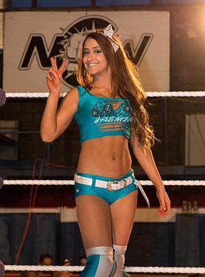 Aliyah (wrestler) - Aliyah in 2014