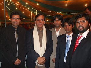Javed Hashmi - Hashmi at a wedding.