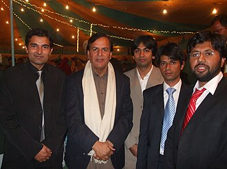 Javed Hashmi - Hashmi at a wedding.