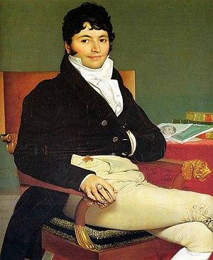 Mademoiselle Caroline Rivière - Portrait of Philibert Rivière, 1805