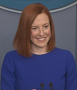 Jen Psaki during first press briefing.jpg
