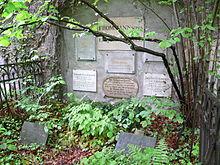 Grabmal auf dem Johannisfriedhof in Jena (Quelle: Wikimedia)