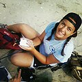Jenna, during a summer internship at Chincoteague National Wildlife Refuge (9442174763).jpg