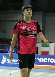 Jeon Hyeok-jin Badminton player