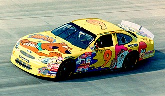 Melling Racing - Nadeau in the Melling Racing No. 9 at Dover, 1998