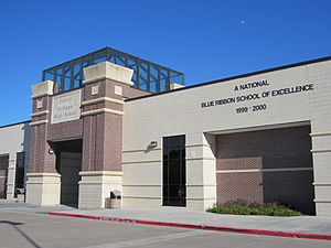 Jersey Village High School - Image: Jersey Village High School, Houston, Texas, 2012