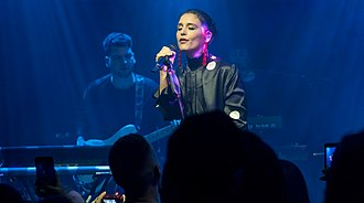 Jessie Ware - Ware performing at The Jazz Café, in February 2018.