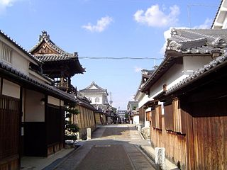 Tondabayashi Jinaimachi Important Preservation District for Groups of Traditional Buildings in Kansai, Japan