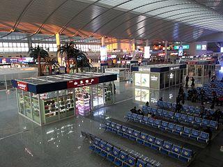 Jinan West railway station