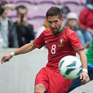 João Moutinho - Moutinho playing for Portugal in 2013