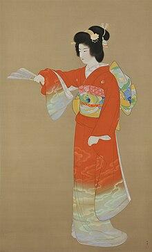 日本画家の上村松園(うえむらしょうえん)