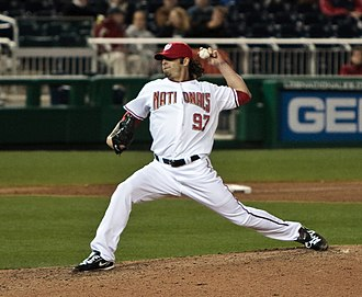Joe Beimel - Beimel pitching for the Washington Nationals in 2009
