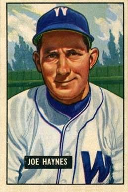 Joe Haynes 1951