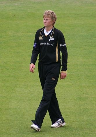 Joe Root - Root on his Yorkshire debut in 2009