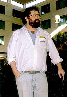 Joel Rosenberg at Windycon 1987 edit.jpg