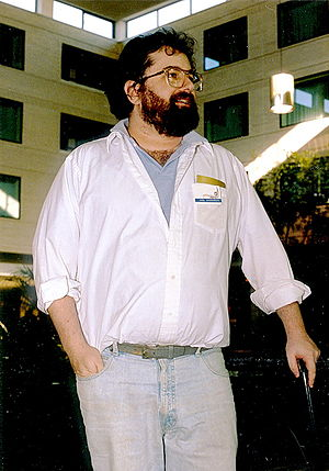 Joel Rosenberg (science fiction author) - Joel Rosenberg at Windycon (1987)