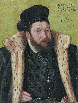 Johann Friedrich II, Duke of Saxony (1529-1595), by German School of the 16th century.jpg