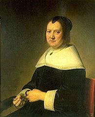 Portrait of Aeltje Dirkz Pater