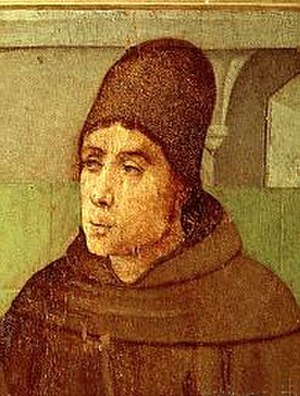 Scotism - Blessed John Duns Scotus (c.1265-1308) the eponym of Scotism.