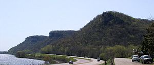 John A. Latsch State Park - Mounts Faith, Hope, and Charity in John A. Latsch State Park