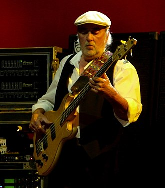 John McVie - McVie live with Fleetwood Mac on 3 March 2009 in St. Paul, Minnesota.
