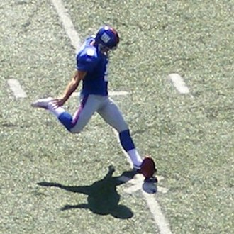 John Carney (American football) - Carney with the New York Giants in 2008.