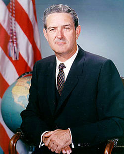 Former Texas Governor John Connally